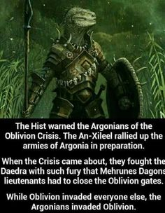 Justice for the Argonians. - Imgur
