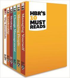 HBR's 10 Must Reads Boxed Set (6 Books) (HBR's 10 Must Reads): Harvard Business Review, Peter Ferdinand Drucker, Clayton M. Christensen, Daniel Goleman, Michael E. Porter: 9781422184059: Amazon.com: Books