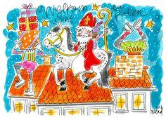 Welkom Sint & Pieten! Sinterklaas by Blond-Amsterdam