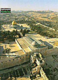 Beautiful Photo of Al Qasa Mosque Jerusalem - Palestine