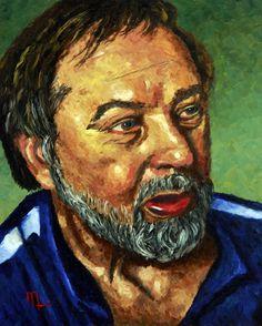 Portrait 1505E - Morris Painting - 16x20 Oil on Panel