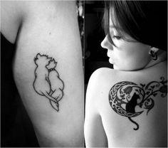 Tatuajes De Gatos Unos Diseños Tiernos Para Las Mujeres Tatooes