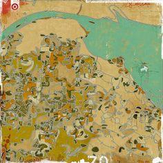 ARQUITETURA SURREAL FUTURISTA na Pintura de Olalekan Jeyifous