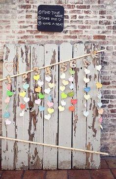 Bustled Blog - cute place card idea