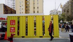 UNIQLO POP-UPS - LOT-EK Architecture & Design