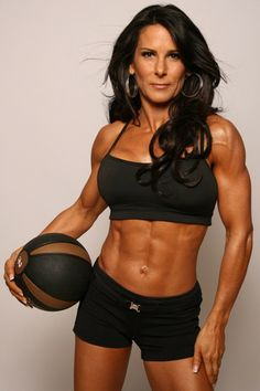 Fitness Models Over 40 | Defying 40′s - I want her abs! http://healthyquickly.com