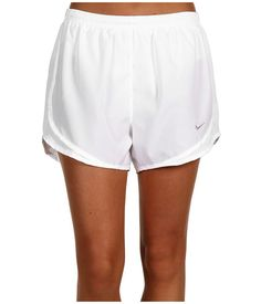 Nike Tempo Short White/White/White/Matte Silver - 6pm.com