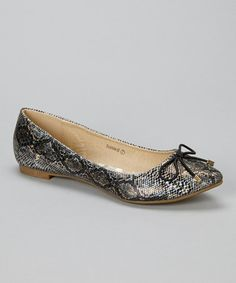 Take a look at this Black Snake Stockholm Flat on @zulily today!