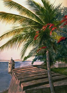 Old San Juan by George Bloise