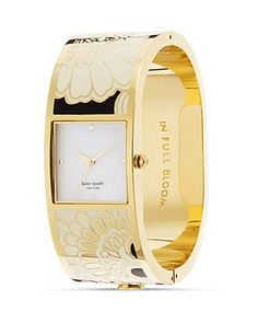 japanese floral watch, kate spade