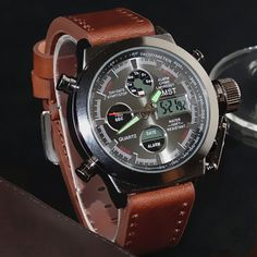 06c5911f334 ... Strap LED Watches Men Top Brand Luxury Quartz Watch reloj hombre  Relogio Masculino-in Sports Watches from Watches on Aliexpress.com
