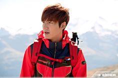 Lee Min Ho for Eider Spring/Summer 2014 Ad Campaign