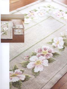(1) Gallery.ru / Фото #7 - Cross Stitch - Flowers - Marina-Melnik
