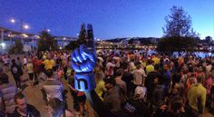 The #Nuun Finger at the Portland Exchange #NuunHTC #HTC14