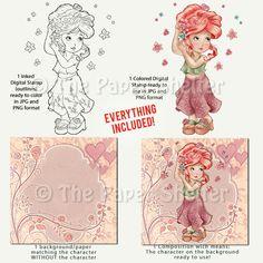 Spring Soul - Digital Stamp