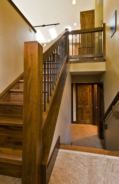GLEN CRESCENT RENOVATION - contemporary - Staircase - Calgary - Sticks and Stones Design Group inc.
