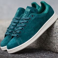 adidas Originals Stan Smith Suede: Green