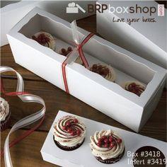 Valentine Cupcakes <3 #cupcakes #valentines #love #foodgifts #love #hearts #brpboxshop