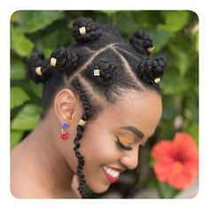 81 Cool Bantu Knots Hairstyles and Tutorial - Style Easily Protective Hairstyles For Natural Hair, Natural Afro Hairstyles, 4c Natural Hair, Pelo Natural, Natural Hair Styles, Bantu Knot Hairstyles, Type 4c Hairstyles, Afro Hair Types, Curly Hair Styles