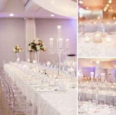 Crystalove creates a beautiful wedding setting at St Clair Centre for the Arts