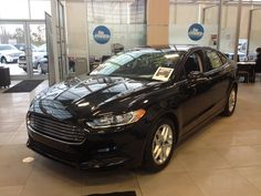 This is the 2013 Ford Fusion SE that Sherwood Ford is Giving away to one lucky Person.    The keys will be handed over the the lucky one on February.27th