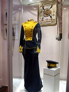 Tatiana's uniform which she used to wear for military events she visited in company of her father and her sister Olga.
