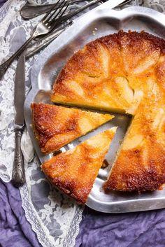 Pear Tatin Cake - Sandra