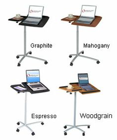 Adjustable Ergonomic Laptop Computer Cart Desk