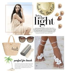 """""""Untitled #13"""" by fashionam45 ❤ liked on Polyvore featuring Linda Farrow and Hat Attack"""