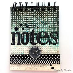 Made by Sannie: Take Note-pad with video tutorial - #sssmchallenge