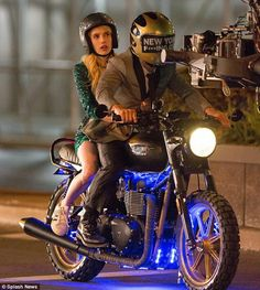 She's got some Nerve! Emma Roberts is back on the set of another movie, getting into character for her next role in the movie adaptation of Jeanne Ryan's novel, Nerve