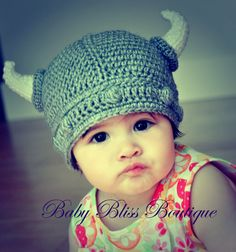 Viking baby.  Awesome.
