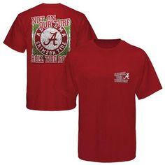 Alabama Crimson Tide On Field T-Shirt - Crimson