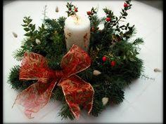 Tempo Libero: news e articoli Noel Christmas, Rustic Christmas, Christmas Wreaths, Christmas Ornaments, Deco Table Noel, Decoration Table, Xmas Crafts, Candles, Holiday Decor
