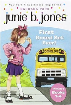 Amazon.fr - Junie B. Jones First Boxed Set Ever! - Barbara Park, Denise Brunkus - Livres