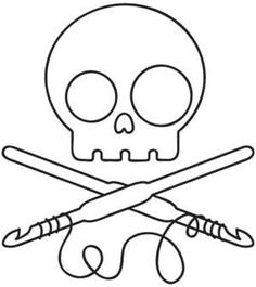 Skully Crochet | Urban Threads: Unique and Awesome Embroidery Designs