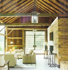 50 Comfortable And Inviting Barn Living Rooms. This is my room. Barn Living, Home And Living, Living Rooms, Modern Living, Country Living, Pool Porch, Barn Renovation, Rustic Interiors, Home Projects