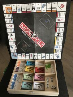 persoonlijk monopoly spel cadeau bruiloft