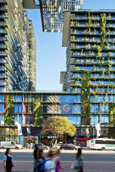 The Vertical Garden Tallest in the World by Jean Nouvel