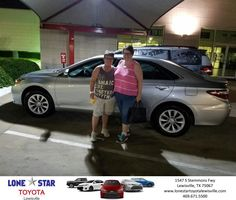 Congratulations Lou on your #Toyota #Camry from Josue/Joshua Avila at Lone Star Toyota of Lewisville!  http://deliverymaxx.com/DealerReviews.aspx?DealerCode=E208  #LoneStarToyotaofLewisville