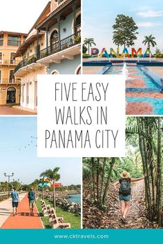 5 Easy Walks Around Panama City - travel guide - CK Travels Panama City Beach Florida, Destin Beach, Florida Travel, Panama City Panama, Beach Trip, Florida Vacation, Mexico Travel, Beach Fun, South America Travel