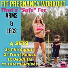 Super safe and effective pregnancy workout with exercises that are great for preventing excess weight gain and be able to lose baby weight postpartum faster. http://michellemariefit.publishpath.com/safe-effective-pregnancy-exercises