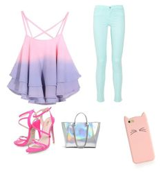 """Going out shopping on a perfect summer day"" by hellokittyrox20 ❤ liked on Polyvore"
