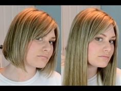 How to blend clip in hair extensions in short, blunt hair! MY CURRENT FAVOURITE HAIR EXTENSIONS! Irresistible Me Hair Extensions: Order yours here: http://bi...