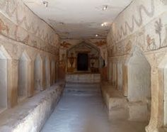 Beth Guvrin National Park (Moresha). Sidonian Burial Caves. Israel