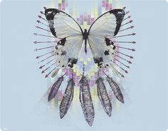 Native American Butterfly Dream Catcher | You need Flash Player 8 to view this site.