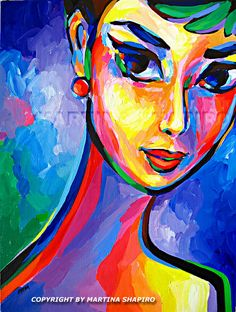 abstract face painting - Google Search