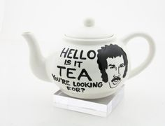 Lionel's got the call for Tea! Want it!