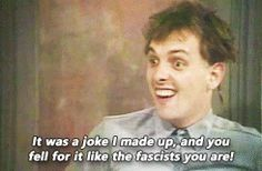 rik mayall young ones gif Comedy Duos, Comedy Actors, British Humor, British Comedy, Welsh, Series Movies, Movies And Tv Shows, Ben Elton, Father Ted