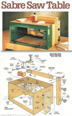 Jigsaw Table Plans - Jig Saw Tips, Jigs and Fixtures | WoodArchivist.com